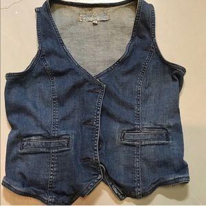 Paper Denim & Cloth Denim Vest